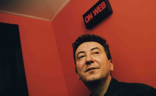 Sylvain Gire, le créateur d'Arte Radio