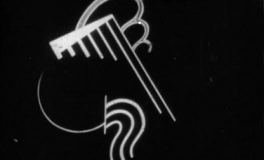 Symphonie diagonale, de Viking Eggeling (1924)