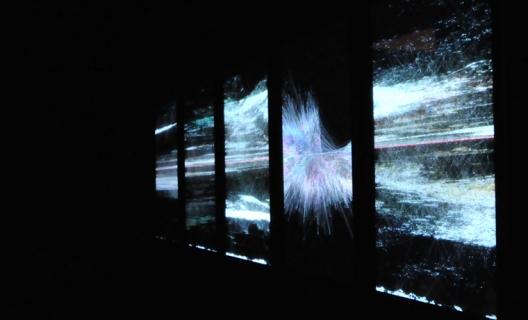 Ryoichi Kurokawa - rheo : 5 horizons (2010) / Courtesy: Cimatics / Copyright: Japan Media Arts Festival