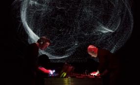 Tempest, Franck Vigroux (musique) et Antoine Schmitt (images)