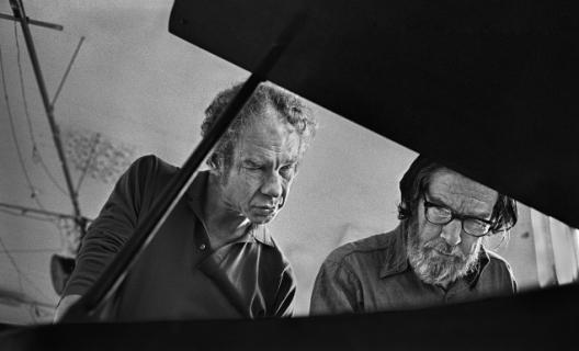 Merce Cunningham et John Cage © James Klosty