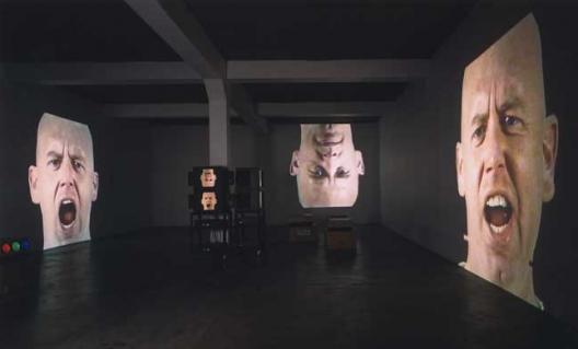 Anthro/Socio (Rinde Facing Camera), 1991 © Bruce Nauman / ADAGP, 2015