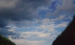 'Une pliure dans le ciel' Fabrice Métais